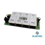 4 Port Passive PoE Injector 12V~48V DC, 650mA Max, 10/100Mbps, tokozatlan