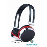 Gembird MHP-903 fekete-piros fejhallgató