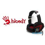 A4-Tech Bloody G501 USB 7.1 fekete-piros gamer headset