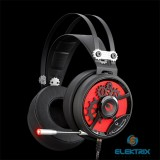 A4-Tech M660 Bloody Golden Sound fekete-piros gamer headset
