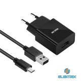 ACME CH211 2.4A univerzális USB hálózati töltő + Micro USB kábel