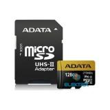 ADATA 128GB SD micro Premier ONE (SDXC Class 10 UHS-II U3) (AUSDX128GUII3CL10-CA1) memória kártya adapterrel