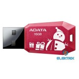 ADATA 16GB USB2.0 Piros karácsonyi (AUV100F-16G-RRD) Flash Drive