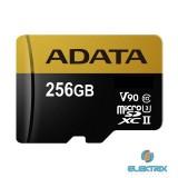 ADATA 256GB SD micro Premier ONE(SDXC Class 10 UHS-II U3) (AUSDX256GUII3CL10-C) memória kártya