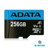 ADATA 256GB SD micro Premier (SDXC Class 10 UHS-I) (AUSDX256GUICL10A1-R) memória kártya