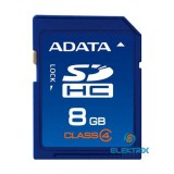 ADATA 8GB SD  (SDHC Class 4) (ASDH8GCL4-R) memória kártya