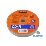 Acme CD-R80700MB52X 10 slim