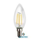 Acme LED Filament 4W 2700K 20h 400lm E14 gyertya izzó