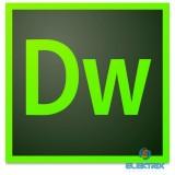 Adobe Dreamweaver CC Multi European MLP 1 év Subscription licenc szoftver