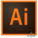 Adobe Illustrator CC ENG 1 év Subscription licenc szoftver