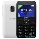 Alcatel 2008G fekete-fehér mobiltelefon