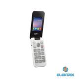 Alcatel 2051D Dual SIM összecsukható fehér mobiltelefon