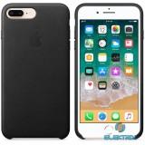 Apple iPhone 7/8 Plus bőrtok fekete