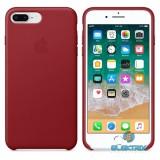 Apple iPhone 7/8 Plus bőrtok piros