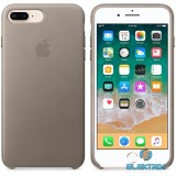 Apple iPhone 7/8 Plus bőrtok vakondszürke