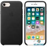 Apple iPhone 7/8 bőrtok fekete