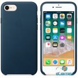 Apple iPhone 7/8 bőrtok kozmoszkék