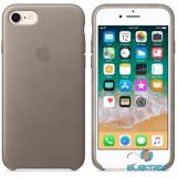 Apple iPhone 7/8 bőrtok vakondszürke