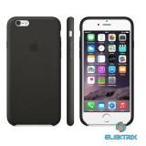 Apple iPhone mmapblck6 6/6S/SE fekete bőrtok