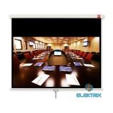 Avtek Cinema 240 16:9 230x129,5cm matt fehér rolós vetítővászon fekete kerettel
