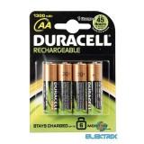 Duracell AA 1300mAh ceruza akkumulátor 4db/bliszter