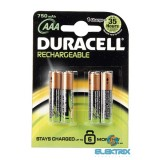 Duracell AAA 750mAh előtöltött mikro ceruza akku 4db/ bliszter