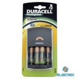 Duracell CEF14 töltő + 2db AA elem
