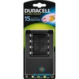 Duracell CEF15 15 perces  gyors töltő
