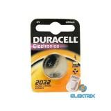 Duracell DL2032 lítium gombelem 1db/bliszter