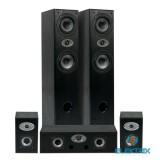 Eltax Experience 5.0 fekete hangsugárzó szett