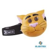 Emos P3523 macska gyerek fejlámpa