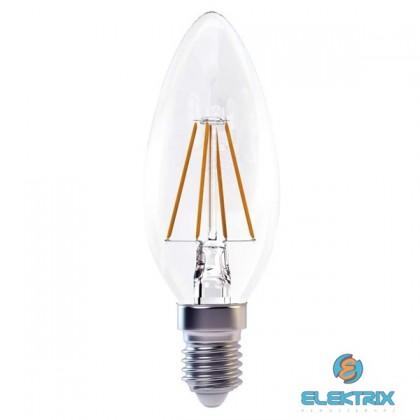 Emos Z74210 FILAMENT 4W E14 meleg fehér gyertya LED izzó