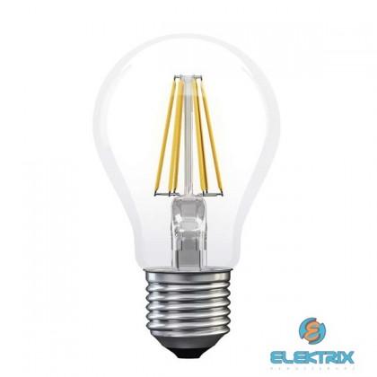 Emos Z74220 FILAMENT A60 6W E27 meleg fehér LED izzó