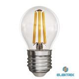 Emos Z74240 FILAMENT 4W E27 meleg fehér kisgömb LED izzó