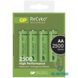 GP ReCyko+ AA (HR6) 2500mAh akku 4db/bliszter