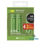 GP ReCyko+ AA (HR6) 2700mAh akku 4+2db/bliszter