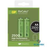 GP ReCyko+ AA 2500mAh ceruza akku 2db/bliszter