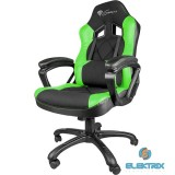 Genesis Nitro 300 SX33 zöld-fekete Gamer szék
