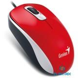 Genius DX 110 USB piros-fekete egér