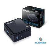 Gigabyte GB-BACE-3150 Brix Intel Fekete barebone mini asztali PC