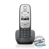 Gigaset A415 hívóazonosítós kihangosítható fekete/ezüst dect telefon