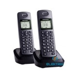 Grundig D1130 DUO DECT fekete telefon