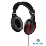 Hama HK-5618 vörös fejhallgató
