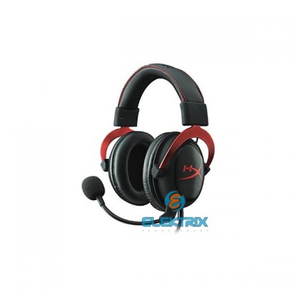 Kingston HyperX Cloud II Fekete-Vörös 3,5 Jack, USB gamer headset