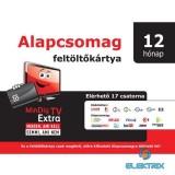 MinDigTV Extra alapcsomag kártya 12 hónap előre fizetett