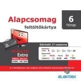 MinDigTV Extra alapcsomag kártya 6 hónap előre fizetett