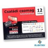 MinDigTV Extra családi kártya 12 hónap előre fizetett