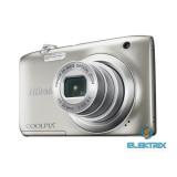 Nikon Coolpix A100 Ezüst digitális fényképezőgép