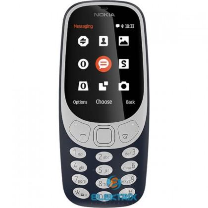 Nokia 3310 Dual SIM sötétkék mobiltelefon