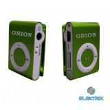 Orion OMP-09GR zöld MP3 lejátszó